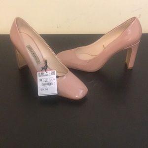 Zara Pink Heels - Size 7.5 (Euro 38)